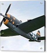 Airplane P-47 Thunderbolt From World Acrylic Print