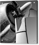 Airplane Propeller Acrylic Print