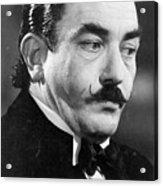 Albert Finney As Hercule Poirot Acrylic Print