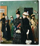 Albertine At The Police Doctors Waiting Acrylic Print