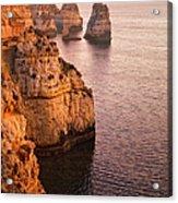 Algarve Coastline, Lagos, Portugal Acrylic Print