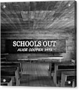 Alice Cooper Schools Out Acrylic Print