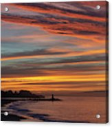 All Saints Day Sunrise Acrylic Print