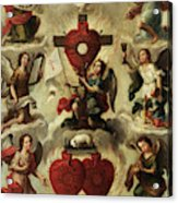 Allegory Of The Holy Eucharist Acrylic Print