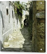 alley in Hammamet, Tunisia Acrylic Print