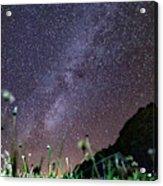 Alpine Milky Way Acrylic Print
