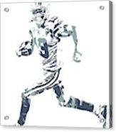 Amari Cooper Dallas Cowboys Pixel Art 3 Acrylic Print