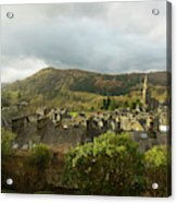 Ambleside Rooftops In The Lake District National Park Acrylic Print