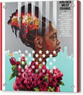 America Must Change Time Cover Acrylic Print
