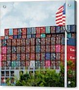 American Georgia Shipping Trade Acrylic Print