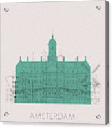 Amsterdam Landmarks Acrylic Print