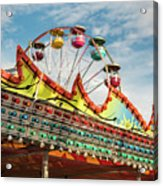 Amusement Park Fun Acrylic Print