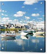 An Idyllic Boating Day Acrylic Print