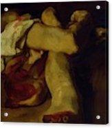 Anatomical Pieces Acrylic Print