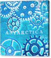 Ancient Antarctic Technology Acrylic Print