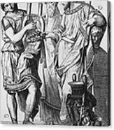 Ancient Greek Music Acrylic Print