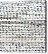 Ancient Paper Book Acrylic Print