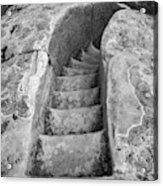 Ancient Stairs in El Morro Acrylic Print