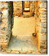 Ancient Windows Aztec Ruins Acrylic Print