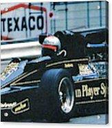 Andretti Monaco 78 Acrylic Print