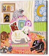 Animal Family 2 Acrylic Print