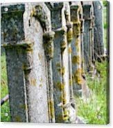 Annapolis Royal Gravestones Acrylic Print