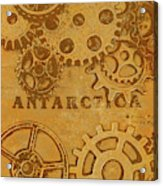 Antarctech Acrylic Print