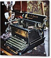 Antique Typewriter 2 Acrylic Print