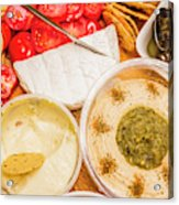 Appetizers Delight Acrylic Print