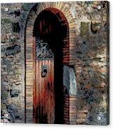 Appia Antica Porta Acrylic Print