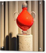 Apple Vase Acrylic Print