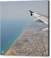 approach to Ben Gurion Airport, Israel w4 Acrylic Print