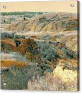 April Domain In Dakota West Acrylic Print