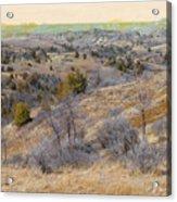 April Prairie Reverie Acrylic Print