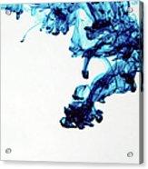 Aqua Art  1 Of  5 Acrylic Print