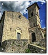 Aquino Chiesa Acrylic Print