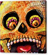 Aranas Sugarskull Of Spiders Acrylic Print