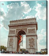 Arc De Triomphe - World Cup 2018 Acrylic Print