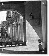 Arch And Shawdow Acrylic Print