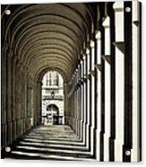Arches Of Grand Theatre Acrylic Print