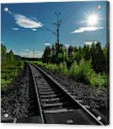 Arctic Express Acrylic Print