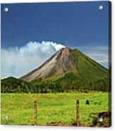 Arenal Volcano - Costa Rica Acrylic Print