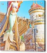 Ariel, The Little Mermaid, Walt Disney World Acrylic Print