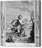 Arion Saved By A Dolphin, 1733. Artist Acrylic Print