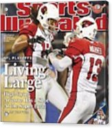 Arizona Cardinals Larry Fitzgerald, 2009 Nfc Divisional Sports Illustrated Cover Acrylic Print
