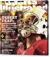 Arizona Cardinals Larry Fitzgerald, 2016 Nfl Football Sports Illustrated Cover Acrylic Print