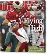 Arizona Cardinals Qb Kurt Warner, 2009 Nfc Championship Sports Illustrated Cover Acrylic Print