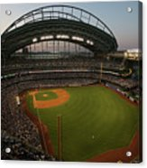 Arizona Diamondbacks Vs. Milwaukee Acrylic Print
