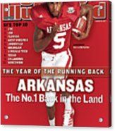 Arkansas Darren Mcfadden, 2007 College Football Preview Sports Illustrated Cover Acrylic Print