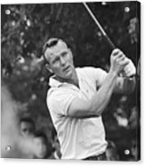 Arnold Palmer Teeing Acrylic Print